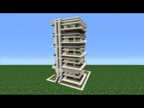 Minecraft Tutorial: How To Make An Apartment Building