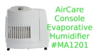 aircare console evaporative humidifier unboxing and test - Essick Humidifier