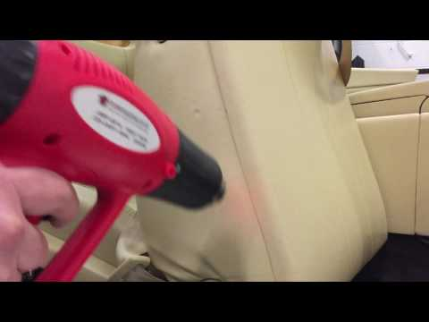 How To Remove Indentations in a Bentley Leather Seat