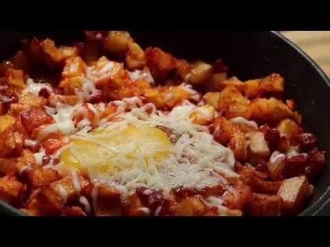 Chorizo, Potato, and  Egg Breakfast