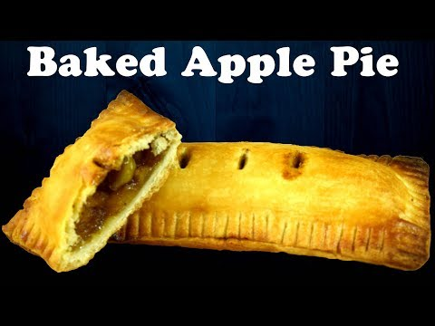 Baked Apple pie inspired by McDonald's| Apple turnovers| Flaky pie crust from scratch| Yummylicious