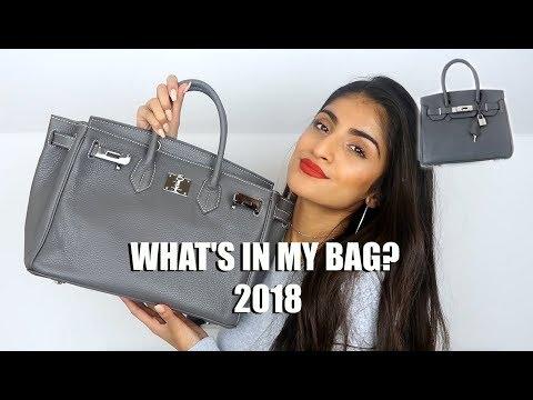 WHAT'S IN MY BAG 2018? | Kim Mann