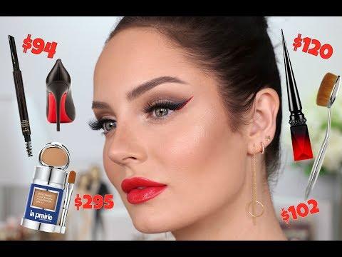 $3,500 Worth Of Designer Makeup Products! 'Red Bottom' Louboutin Eyeliner