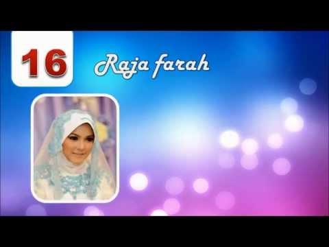 Top 20 Artis Hijab Tercantik Malaysia [HD]