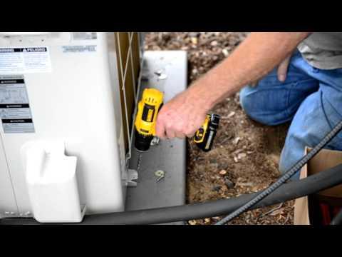 Advanced Amateur installation of LG 24K BTU Ductless Mini Split AC System