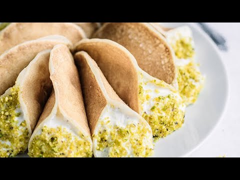 How to Make Homemade Qatayef/Atayef/قطايف with Ashta/Qashta/قشطة Lebanese Dessert