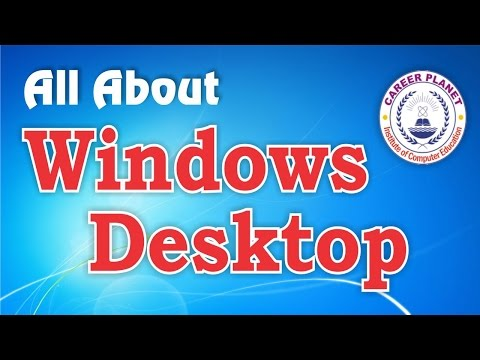 Learn Basic Computer in Hindi - Windows Desktop Day-2|All About Desktop