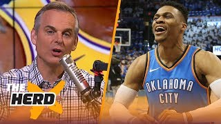 Colin Cowherd believes NBA GMs told us the truth about LeBron, KD and Westbrook   NBA   THE HERD