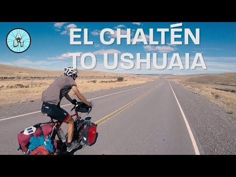 Cycling from El Chaltén to Ushuaia