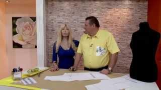 Hermenegildo Zampar  - Bienvenidas TV en HD - Arma el cuello Mao de una camisa de talle especial