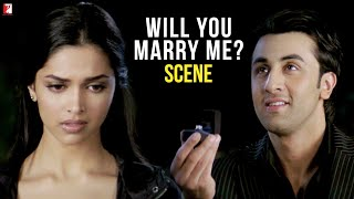 Will You Marry Me? | Bachna Ae Haseeno | Scene | Ranbir Kapoor | Deepika Padukone