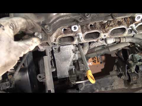 P15/19 How to replace Engine Step by Step Toyota Corolla. Years 2007 to 2018. Part 15 of 19