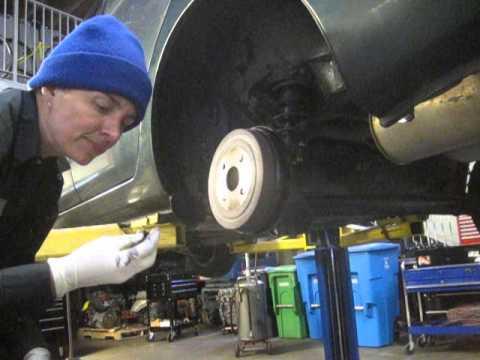 Gen 1 Prius brake fluid leak from LR drum