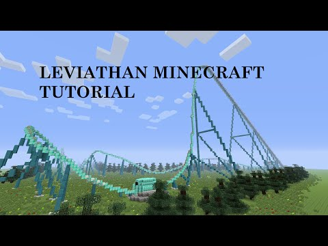 How to build Leviathan part 2: Minecraft Roller Coaster
