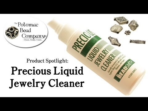 How to Use Precious Liquid Jewelry Cleaner