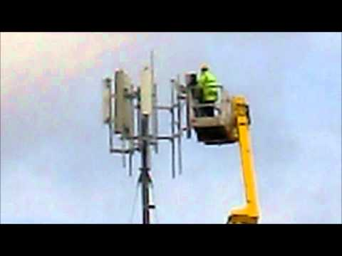 mobile  phone  mast at the bottom of my  garden  . . ..wmv