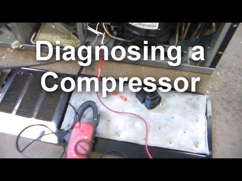 How to Diagnose a Compressor on your Refrigerator