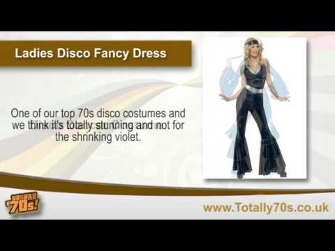 Ladies Disco Fancy Dress