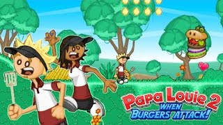 WHACK WHACK / Papa Louie 2 - When Burgers Attack! / Gamer Chad Plays