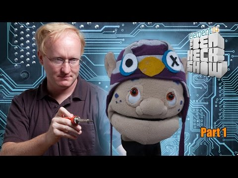 Ben Heck's Animatronic Puppet Head Part 1