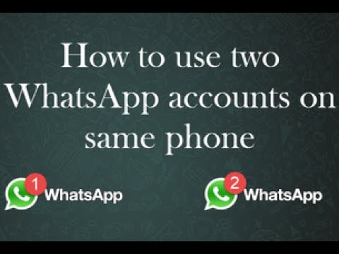 How To Install & Use 2  Whatsapp In One Android Mobile Phone - Dual Whatsapp - Parallel Space