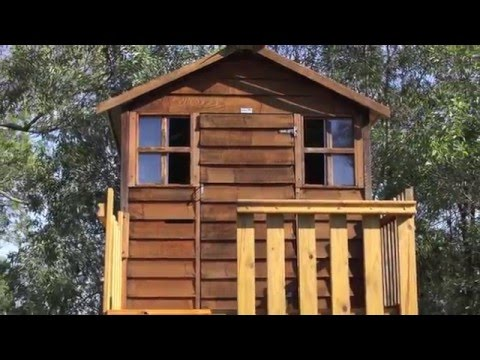 Red Cedar Cubby House Build Restoration