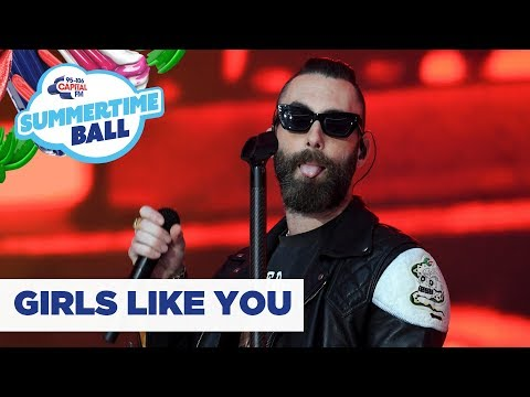 Xxx Mp4 Maroon 5 – 'Girls Like You' Live At Capital's Summertime Ball 2019 3gp Sex