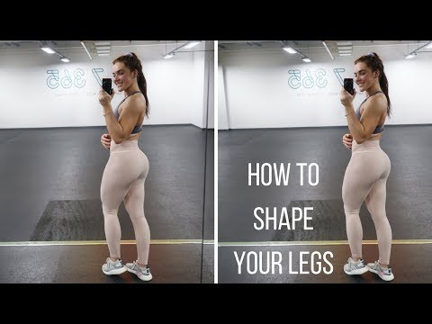 Hamstring And Glute Workout | How To Shape Your Legs