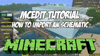 How to Install and Use MCEdit Filters - Minecraft 1 8