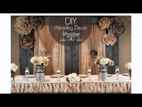 Wedding Decor 101 - SIGN UP for a week of FREE DIY Tips!
