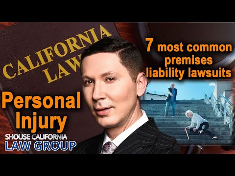 7 most common grounds for a premises liability lawsuits