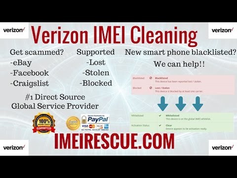 How To Fix Blacklisted Verizon iPhone 7 IMEI Cleaning Blacklist Repair Unblock Unblacklist Fix