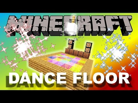 How To Make A Working Dance Floor! - Minecraft Tutorial