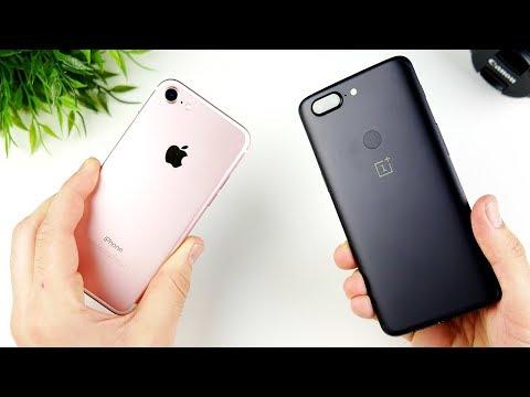 iPhone 7 vs OnePlus 5T