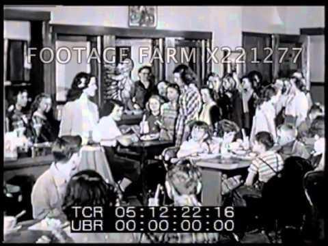 1940s-1950s The State of Schools in the USA 221277-02X | Footage Farm