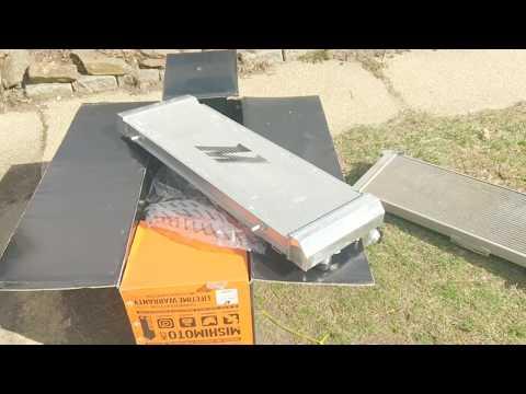 89 Cherokee Mishimoto Aluminum  Radiator Install