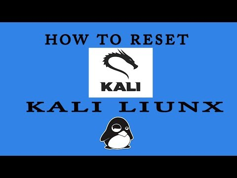 how to reset forget Kali Linux root login password ? #kali linux tips 2017