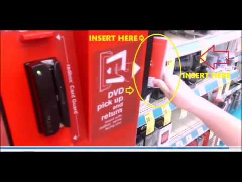How to Return Anywhere REDBOX DVD Blu-ray Movie Game Rental Discs (Kiosk Locations Near Me Cost 2017