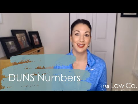 DUNS Numbers - All Up In Yo' Business