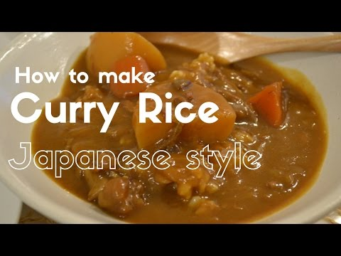 How to make ★Japanese Curry Rice★カレーライスの作り方(EP8)