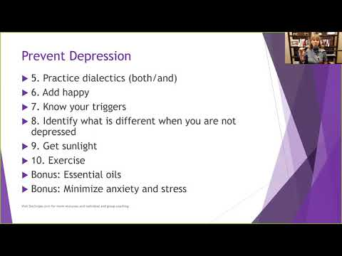 10 Ways to Deal with Depression