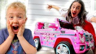 SURPRISING MY BIGGEST FAN WITH A NEW CAR! *EMOTIONAL*