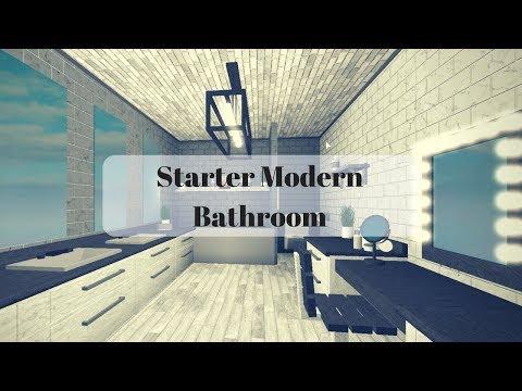 Roblox | Bloxburg: Starter Modern Bathroom (8k)