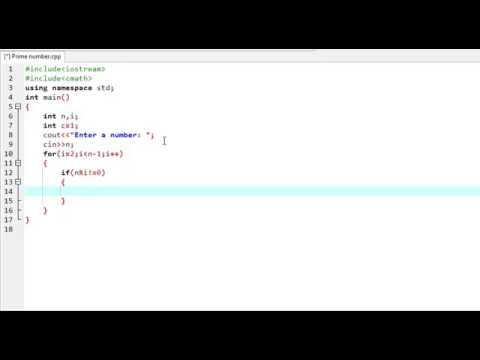 C++ Program to find prime number