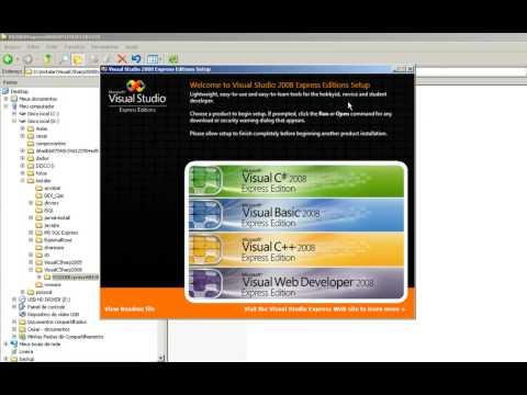 Visual C# 2008 - Download e Instalação