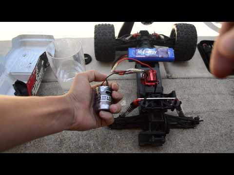 How to clean a brushed RC motor