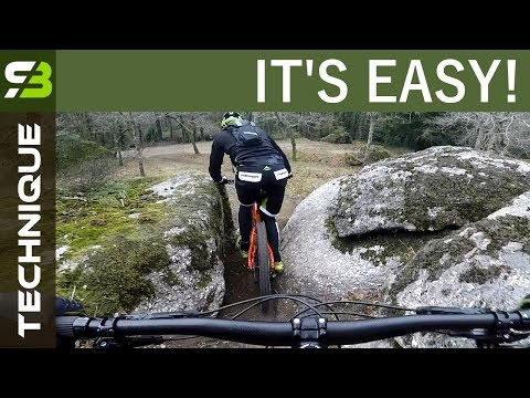 Training Enduro MTB - Lesson 3. Why Do You Take A Chicken Line? Lack Of Technique?