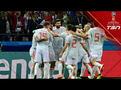 MOVE THE BUS! Spain break through Iran's defence to earn vital win