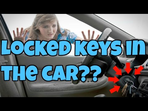 Locked keys in car How to unlock car door (with a smartphone)