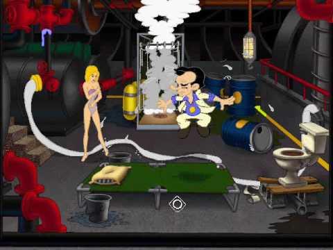 Leisure Suit Larry 7: part 14/26: Drew in Larry's room